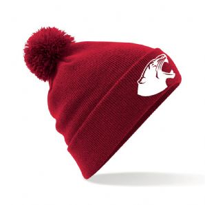 National College of Ireland Bobble Hat 2018 - Red